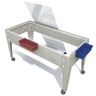 Sand and Water Activity Center - Clear Liner with 4 Casters - Sandstone
