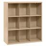 Cubbie Storage Organizer - 9 Cubbies - Tropic Sand