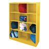 Cubbie Storage Organizer - 12 Cubbies - Yellow