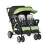 Foundations® Quad Sport™ 4-Passenger Stroller - Lime Green