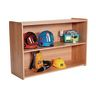 """30""""H Straight Shelf - Natural Alder, Assembly Required"""
