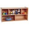 "2-Shelf Storage Unit, 24""H - Natural Alder, Assembly Required"