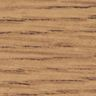 "30"" x 60"" Trapezoid Table, 22-30""H - Oak/Black"