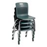 "Analogy Chairs 12""H Set of 5 - Gray"