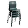 "Analogy Chairs 14""H Set of 5 - Gray"