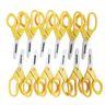 "Colorations® 5"" Plastic Blade Blunt Tip Scissors - Set of 12"