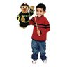 Career Puppets with Detachable Wooden Rod Set of 4