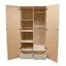 Wood Teachers Storage Cabinet