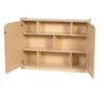 "Locking Shelf Storage - 36""H"
