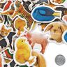 Colorations® Real Photo Animal Foam Stickers 250 Pieces