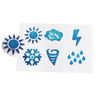 Colorations® Jumbo Easy Grip Weather Stampers