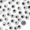 Black and White Googly Eye Stickers 1000 Pieces