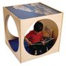 Preschool Quiet Reading Cube - Ready to Assemble