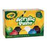 Crayola Acrylic Paints, Classic Colors, each 2oz.set of 6