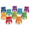 Snap-N-Learn Rainbow Owls