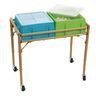 Excellerations® 4-Station Sensory Sand Table with Lids