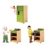 Let's Play Toddler Kitchen 3-Piece Set