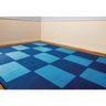 "Checker Blue Premium Carpet - 8'5"" x 11'9"" Rectangle"