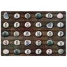 Alphabet Stones Seating 6' x 9' Rectangle Pixel Perfect Carpet