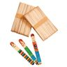 Colorations Large Wood Craft Sticks - 100 Pieces