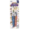 Paint Brushes, Colorations, Round, Set of 4 Assorted Sizes, Ideal for Most Paint Mediums