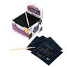 Colorations Scratch Art Kit - 125 Notes & 2 Styluses
