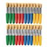 Colorations® Stubby Plastic Chubby Brushes Set of 24