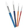 Colorations® Round Paint Brushes, Set of 12, 4 Sizes