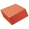 "Heavyweight Orange Construction Paper, 9"" x 12"", 500 Sheets"