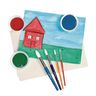 Colorations® Round Paint Brushes, Set of 24, 4 Different Sizes