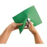"Construction Paper, Holiday Green, 12"" x 18"", 200 Sheets"