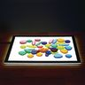 Clear Rainbow Pebbles - 36 pcs.
