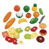 Cut and Play Mega Food Set of 53 Pieces