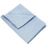 Angels Rest® Gingham Blue Toddler Cot Sheet