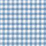 Angels Rest® Gingham Blue Toddler Cot Sheet