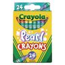 Crayola Pearl Crayons, Set of 24 Colors