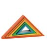 Wooden Rainbow Triangles