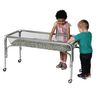 """Toddler Height Clear Sand and Water Table- 18""""H"""