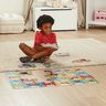 Animal Alphabet and Farm Number Floor Puzzles Set of 2