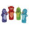 Dinosaur Friends Hand Puppets Set of 4