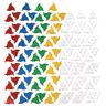 Crystal Polydron 100 Triangles Set