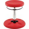 "Adjustable Wobble Stool, 14""-19""H - Red"