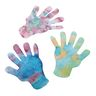 Color Diffusing Paper Hands Cut-outs, Set of 100