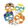 Color Diffusing Paper Sugar Skulls, set of 100 sugar skull cut-outs