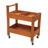 Excellerations Outdoor Rolling Storage Cart