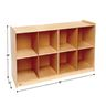 Big Cubbie Storage - 8 Section