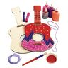 Decorate Your Own Wooden Guitar for Kids Set of 6