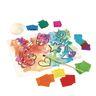 Mini Bleeding Tissue Art Squares, 5000 Squares