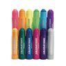Colorations Metallic & Neon Tempera Paint Sticks, Set of 12