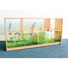 """Nature View Acrylic Back Cabinet - 24"""" High"""
